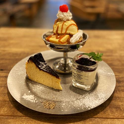 3種のチーズケーキ